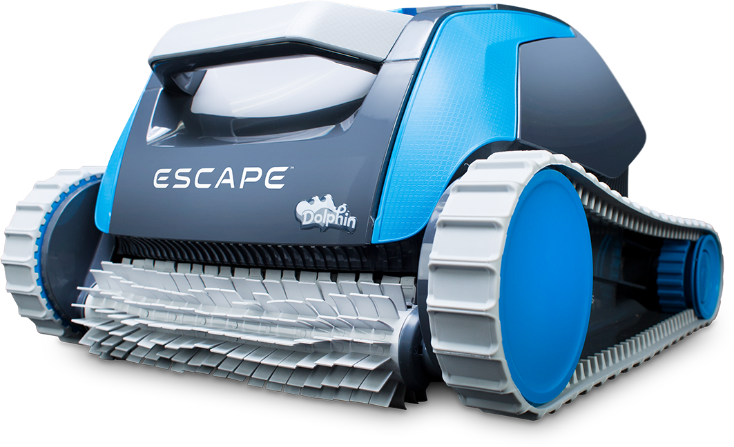 Above Ground Robotic Pool Cleaner All New Escape Dolphin